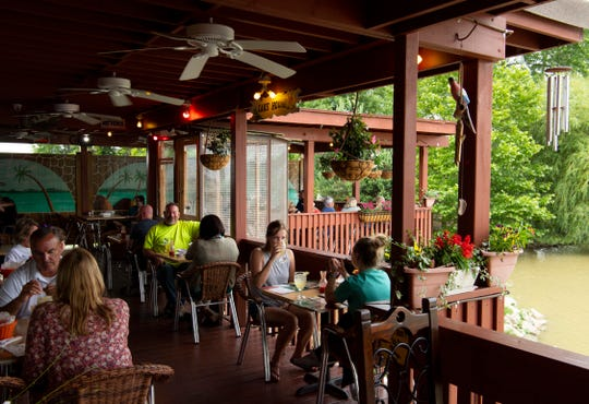 Fiesta Acapulco is located at 8480 High Pointe Drive and features both indoor and outdoor patios.