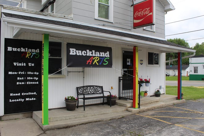 Buckland Arts, a new artisan and crafters co-op, is celebrating its grand opening Saturday and Sunday. The store is located at 1707 Buckland Ave.