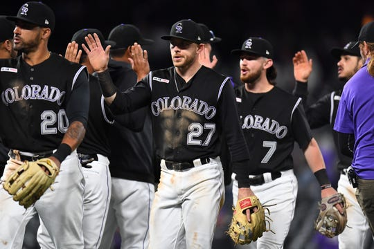 The Colorado Rockies host Toronto at 6:40 p.m. Friday.