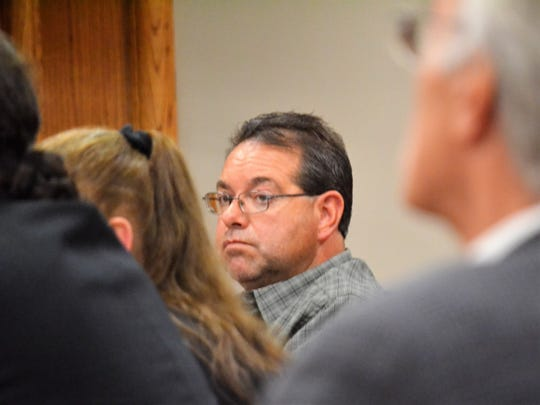 Leroy Beechy is seen at a hearing in Oconto County Circuit Court on May 29, 2019.