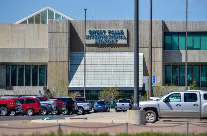 The Great Falls International Airport main terminal building.