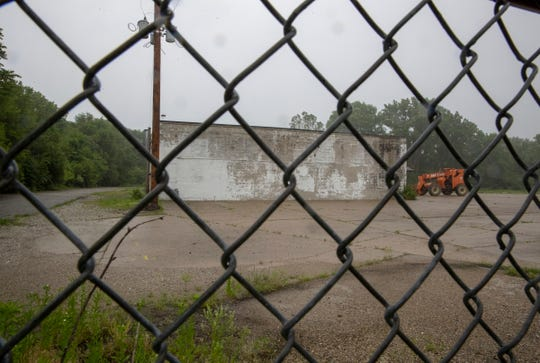 The site of a possible site to crush, sort and store limestone from the Citizens Deep Tunnel project, 2200 Montcalm Street, Indianapolis, Thursday, May 30, 2019.