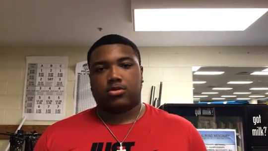 Avon lineman Blake Fisher is one of top prospects in the country at his position