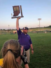 Nick Dittmer has been the Paoli softball coach for the past eight seasons.