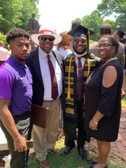 Kendell Walker, a 2014 Liberty Tech graduate, was a Morehouse College graduate who will have his debt paid off by billionaire Robert Smith.