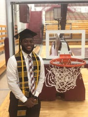 Kendell Walker, a 2014 Liberty Tech graduate, was a part of the 2019 Morehouse College graduating class to have their student debt paid. He decided to stay an extra year at Morehouse to play basketball after red shirting his freshman year because of an injury.