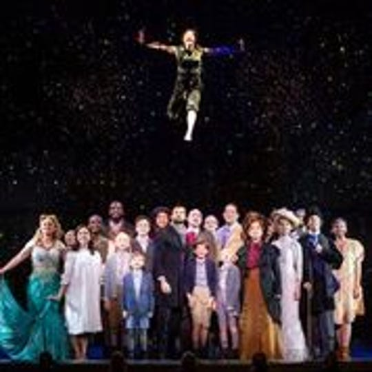 "The company of ""Finding Neverland."""