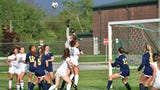 Watch both goals in Novi's 2-0 district soccer victory over Hartland.