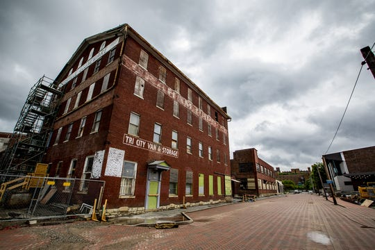 The old Louisville Leather Company Tannery Building in the Paristown neighborhood is undergoing a major renovation.