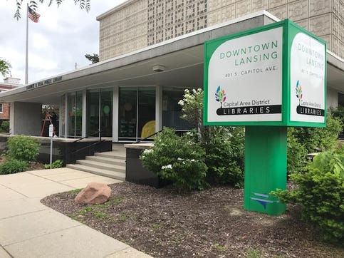 Capitol Area District Libraries will test curbside delivery at some its branches this summer, including the downtown Lansing location.