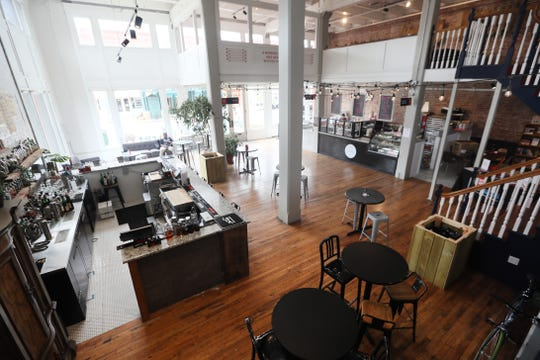 Puck Food Hall on South Main opened its doors to the public on Thursday, May 30, 2019.