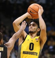 Markus Howard scored 24 points in a game against Purdue in 2017.