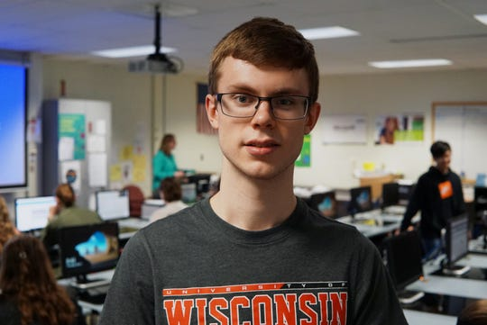 Sam Schiedermayer, who just graduated from Hortonville High School, will attend the University of Wisconsin-Madison in the fall to study computer science and computer engineering.