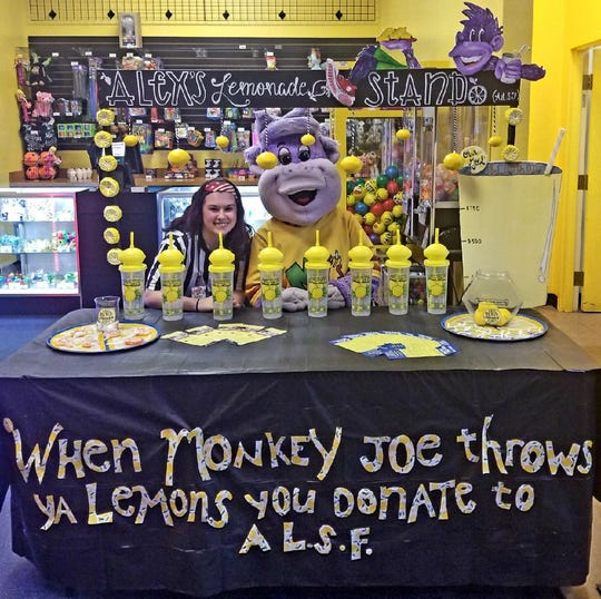 Monkey Joe's in Waukesha works with Alex's Lemonade Stand Foundation to raise money to find a cure for childhood cancer.
