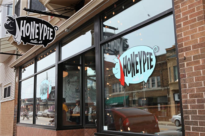 HoneyPie, the 10-year-old all-day cafe at 2643 S. Kinnickinnic Ave. in Bay View, is rumored to be moving to the former Alchemist Theatre building two blocks north. In response, the owner said nothing was set.