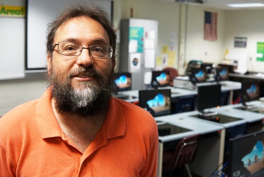 Scott Brielmaier has taught in the Hortonville schools for 27 years. He team taught a computer science class the last two years along side professionals from the community. It's part of a program called TEALS sponsored by Microsoft Philanthropies, which was in 34 Wisconsin schools in the 2018-2019 school year.