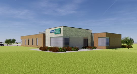 Froedtert Health Inc. is interested in opening a 6,000-square-foot clinic on Sunset Drive and Genesee Road in southwest Waukesha. This rendering represents an early idea of what the clinic would look like. The proposal still needs the approval of the Waukesha Common Council in several aspects, including annexing a small portion of land from the town of Waukesha.