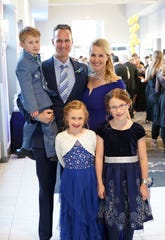The Ford family at JDRF's One Hope Gala earlier this year.