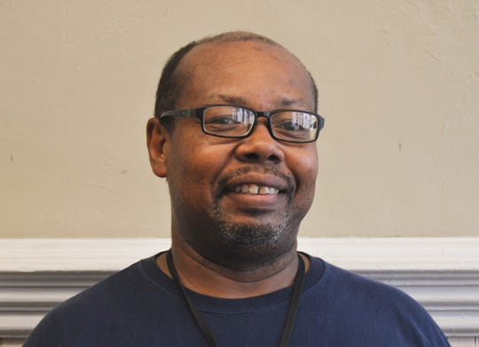 Special Education Department custodian Pelester Williams is an employee of the month for May for Montgomery Public Schools.
