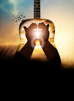 At least seven recent high-profile country songs reference God or his son or wade into the spirit of Christianity.