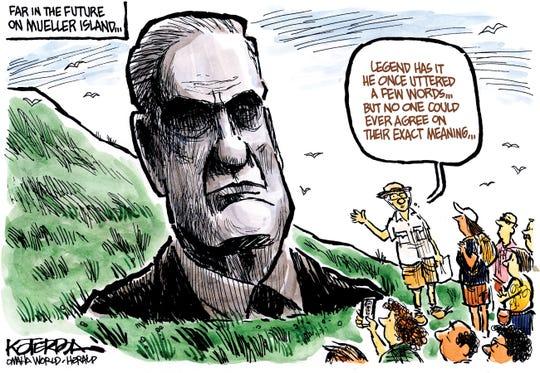 Mueller on Easter Island