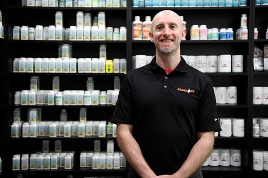 Evan Chait, founder of Kinetic Physical Therapy in Ramsey, uses essential oils, as well as CBD oil, in his practice.