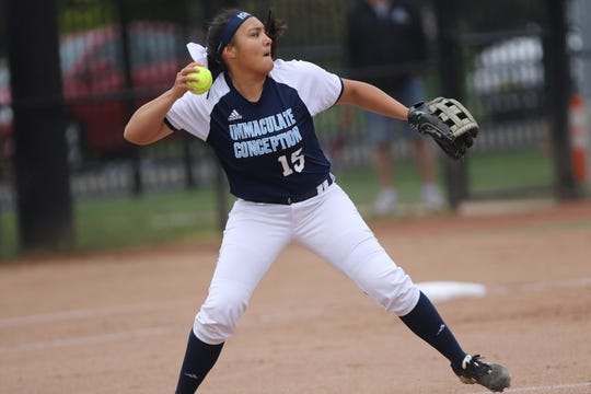 Caylee English of Immaculate Conception has been nominate for top high school softball player.