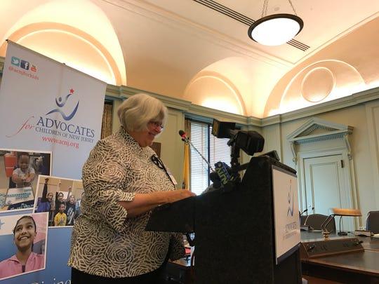Cecilia Zalkind, President/CEO, Advocates for Children of New Jersey.
