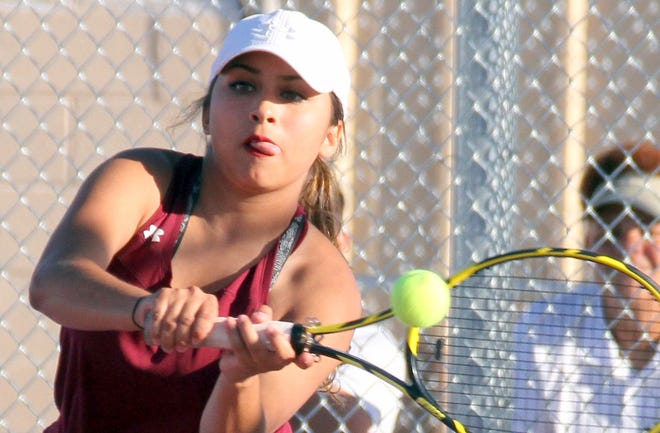 Deming High graduate Kianna Gomez is representing Deming High School this weekend at the New Mexico North-South All-Star Tennis Challenge at Academy High School in Albuquerque, NM.