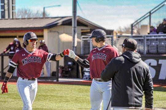 New Mexico State's Joey Ortiz was one of three Aggies to be named to the Collegiate Baseball All-America team.