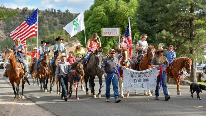 The annual DooDah Parade livens up downtown Glenwood on the 4th of July.