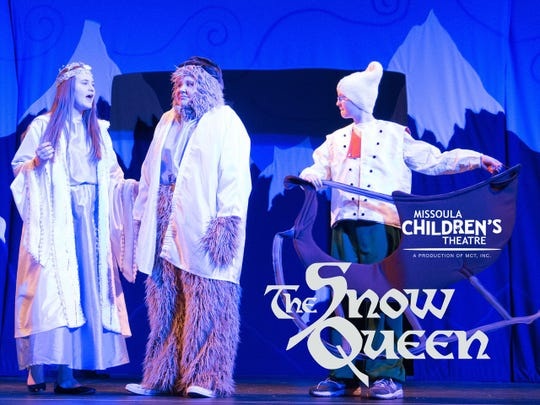 A promotional poster for The Snow Queen