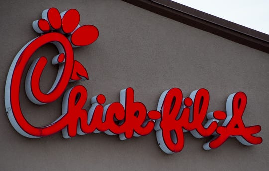 The Chick-fil-A restaurant is seen in Chantilly, Virginia on January 2, 2015.