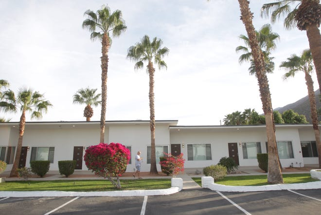The Villa Soleil apartments on Palm Canyon