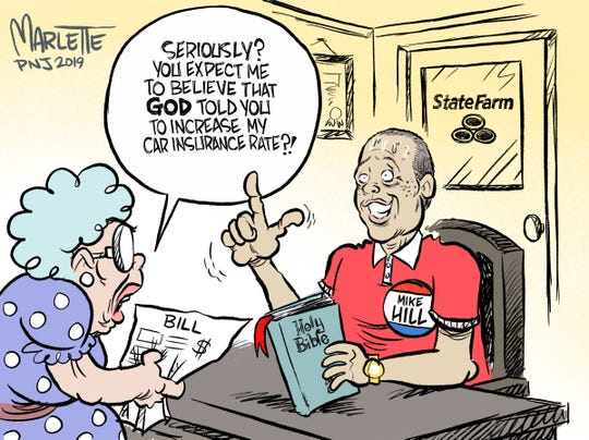 Marlette: Hey Mike Hill, God says answer the phone