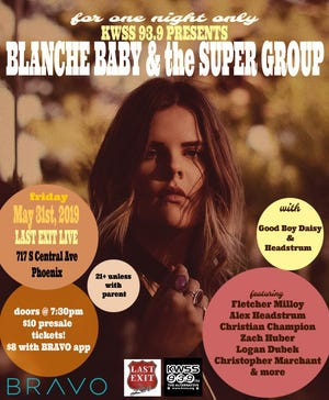 Blanche Baby & the Super Group poster