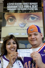 Paper tickets are now a thing of the past with the Phoenix Suns.