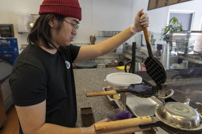 Matthew Wong owns Genbu Waffles in Mesa.