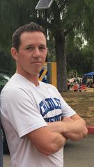 Chandler boys track and field coach Matt Lincoln.