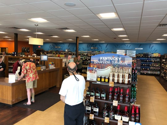 A peek inside the renovated Fine Wine & Good Spirits store in The Promenade at Lebanon East shopping center, which launched Wednesday, May 29.