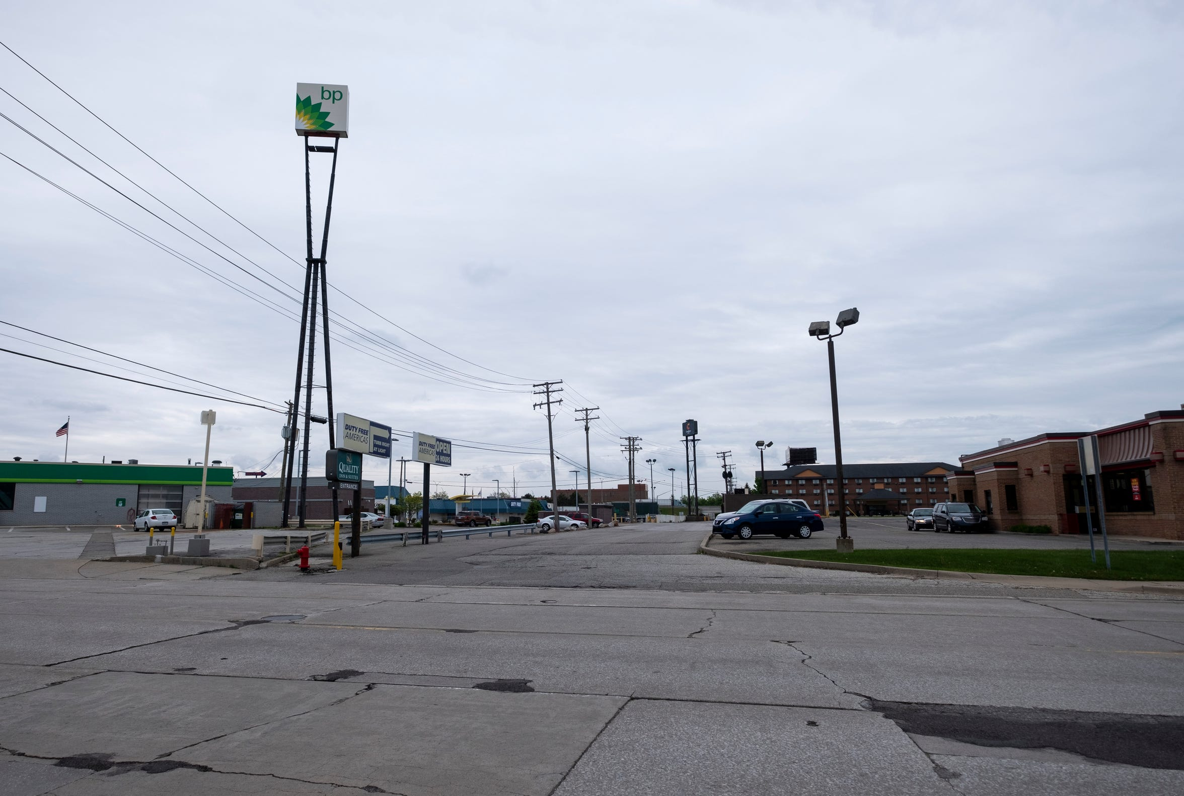 Businesses south of Hancock Street in Port Huron will work to keep the sewers accessible while the city completes its final sewer separation project later this year.