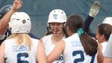 Madison Mason's three-run homer in the sixth inning lifted John Jay to a 4-3 come-from-behind win over Mahopac in the Section 1 Class AA semifinals.