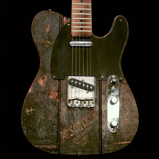 """Carmine Street Guitars"" opens Friday at Small Star Art House."