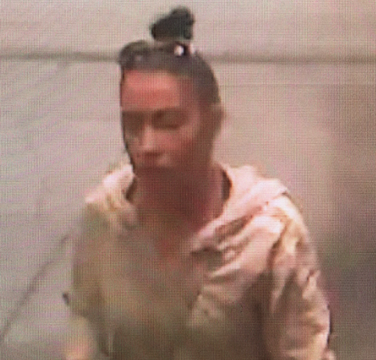 Hanover Police are searching for this woman who they say is a person of interest in a robbery at the Hanover Mall on May 27. Photo courtesy of Hanover Police.