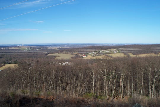 View looking north from Rocky Ridge County Park's North overlook.