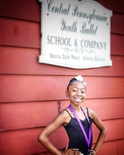 Central Pennsylvania Youth Ballet has graduated a slew of accomplished dancers. Niyah Peterkin of York hopes to be one of those some day.