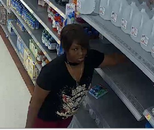 Springettsbury Township police are looking for this person in reference to recent retail thefts.