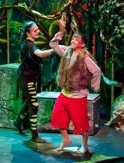 A scene from the Jungle Book.
