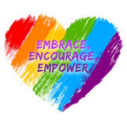 """The theme for Pride Week 2019 in San Angelo is """"Embrace, Encourage, Empower."""""""