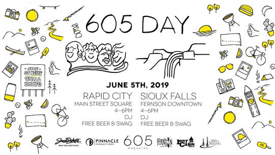 605 Day poster